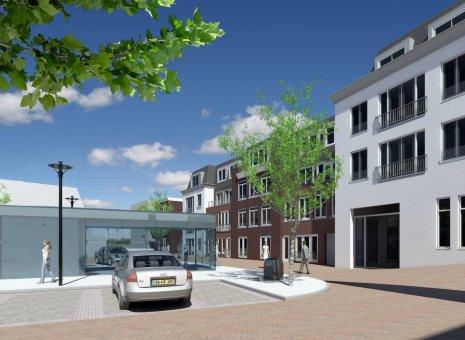 Appartementen, winkels en parkeergarage Coremolen Noordwijkerhout
