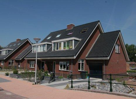 Diverse woningen plan De Bleeckerij Katwijk